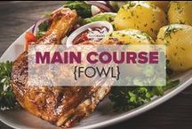 Main Course {fowl} / A collection of scrumptious Paleo chicken, turkey and duck recipe ideas. / by PaleoHacks