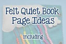 Развивающая книга / Quiet Books / Создание книги для развития малыша своими руками