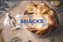 Snacks / A collection of simple and healthy Paleo snack recipe ideas: apple nachos, pear chips, trail mix, crackers and more! / by PaleoHacks