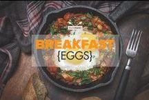 Breakfast {eggs} / Paleo breakfast egg recipes: egg muffins, scotch eggs, egg bake, frittata, green eggs, scrambled eggs and many more delicious eggy breakfast ideas. / by PaleoHacks