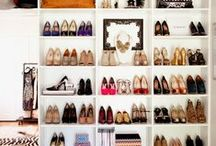 The Organized Pair / The best Pinterest tips for organizing your #shoe #closet or collection. Storage solutions don't have to be expensive or hard @closets.com!