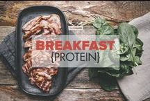 Breakfasts {protein} / Paleo breakfast for champions jam-packed with protein: breakfast burritos, bacon, salmon, sausage, scotch eggs and more protein delights! / by PaleoHacks