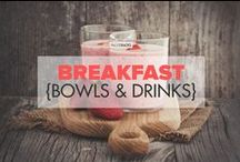 Breakfast {bowls & drinks} / Paleo breakfast bowls and drinks: Smoothies, matcha lattes, acai bowls, chia porridge and more! / by PaleoHacks