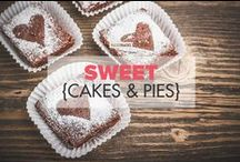 Sweet {cakes & pies} / A collection of healthy flourless Paleo cake and pie recipe ideas: no-bake cheesecakes, lava cake, tarts, skillet cake, soufflés and more! / by PaleoHacks