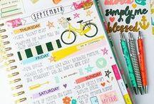 organization/planner stuff ✐