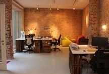 Büro @lumizil / Wir sind umgezogen nach Berlin Mitte und haben uns schon mal mit coolen Lampen fürs Büro eingedeckt.