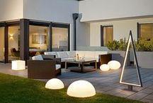 Außenleuchten @lumizil / Mein Garten ist mein Königreich! Erstrahle Deinen Garten, Terrasse oder Balkon mit tollen Lichtakzenten und genieße jeden Moment des Sommers draußen!