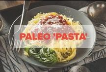 Paleo 'Pasta' / A collection of tasty Paleo noodles recipes: from sweet potato noodles to zucchini zoodles.  / by PaleoHacks