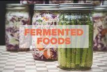 Fermented Foods / All things fermented: Pickled vegetables, sauerkraut, kombucha, kimchi and kefir. / by PaleoHacks