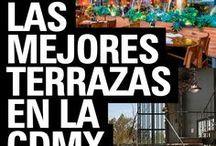 Las mejores Terrazas en la CDMX / Te decimos cuáles son las terrazas más cool para salir entre amigos en las mejores zonas de la Ciudad de México