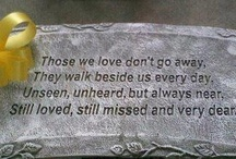 Personal reflections & memories / My loss & my beautiful family - always in my thoughts