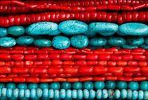 {colours} - 4. red & aqua