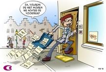 cartoons; Clip&Claar / Maandelijkse cartoons in opdracht van Stichting CLiP (http://www.stichtingclip.nl)