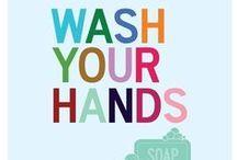 Instrukcja mycia rąk / Instrukcje mycia rąk i instrukcje dezynfekcji rąk - higiena rąk, mycie rąk, dezynfekcja rąk, higiena w służbie zdrowia