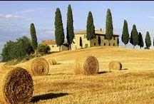 Panorami della Toscana - Landscapes of Tuscany / Panorami della #Toscana nei dintorni dell'#agriturismo Antico Borgo Poggiarello - Views of #Tuscany in the surroundings of Antico Borgo Poggiarello #farmhouse