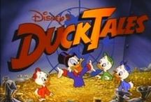 Donald Duck / And nephews - Huey, Dewey and Louie. I have always LOVED Donald Duck.