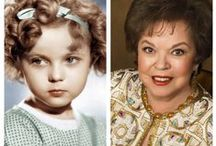 """Shirley Temple / Shirley Temple (1928 - 2014)  - The biggest child Dancer, Singer and Actress of the Depression - 1932 - 1938. Her very first movie """"The Red Haired Alibi"""" was shot in 1932 when Shirley Temple was only three years old. Her second film, 'Bright Eyes' from 1934 won her an Academy Award. Her last movies were filmed in 1948. They bombed. So she turned to marriage and then to politics instead. She died in February 2014."""