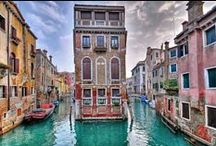Venice, Italy / Wonderful history, beautiful scenery and an incredible feat of engineering. Annual Festivals include the Rowing Regatta in May and the Carnival in February.