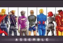 Superheroes. / Superheroes. That is all.