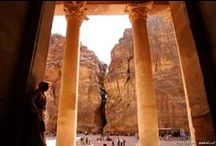 Petra - Jordan / Ever since Indiana Jones tracked the Holy Grail to a place in the desert called The Valley of the Crescent Moon (Indiana Jones and the Last Crusade, 1994), I have been fascinated with Petra and the Nabatean civilization.