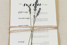 WEDDING STATIONERY / French-inspired classic text, monochrome, gold and taupe