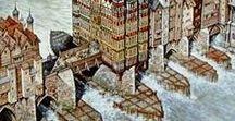 London around the 14th Century / Fourteenth century London.