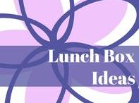 Lunch box ideas!! / Quick and easy ideas for school lunches! Let's not forget creative + healthy!!