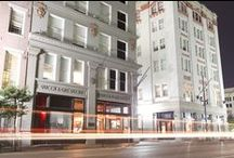 Q&C Hotel/Bar   New Orleans / The Q&C Hotel/Bar in New Orleans, Louisiana recently underwent a $10.2m renovation.