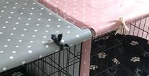 The Cosy Canine Company / Follow this board to see all latest dog walking bags, poop bag holders and dog crate covers.