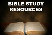Bible Study Resources / These excellent resources from Lamb & Lion Ministries are available for individual or group Bible study!
