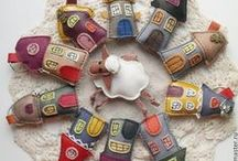 Keyrings creative sewing - Portachiavi