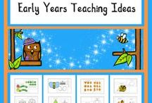 Early Years Teaching Ideas