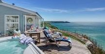 Dog Friendly Holidays (UK) / No one likes leaving their dog at home while they go on holiday. Follow this board for luxurious self catering cottages that you can take your dog to.