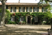 Domaine de Rhodes / We stayed at this fabulous B&B across the Rhone River from Avignon....I highly recommend that you stay here when visiting Provence.