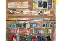 Mon autre vie - My other life / La peinture à l'huile, acrylique, aquarelle, gouache. Ambiance