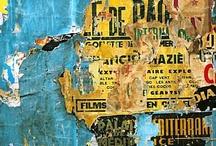 A l'arrache / Décollage guaranti. Affiches, art urbain