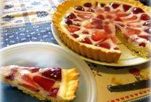 Crostate & Tart recipes / Recipes from my food-blog: con la frolla, con la marmellata, con la frutta a pezzi e via