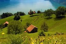Helvetia/Switzerland: My Home. / Switzerland, my home. / by Naomi Schröper-Couch