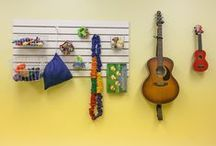 Studio Spaces & Music Places / We're inspired by these spaces and places where children learn and grow through music.