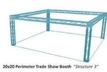 Trade Show Booths / Experience the VersaTruss Plus Trade Show Booth Difference. Modular aluminimum truss Trade Show Booths - http://versatrussplus.com - email us at info@versatrussplus.com or give us a call 1 (888) 291-2989 #tradeshowbooths #trade #show #booths