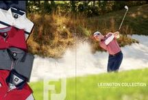Lexington Collection / One of FJ's Summer/Fall Collections supporting this year's Olympics & Ryder Cup events. This themed palette consists of the typical deep red, white and navy blue pieces. Summer/Fall 2016 Collection.