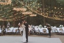 Lighting / Unique lighting has the power to create pure magic on your wedding day.