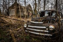 Abandoned/old houses