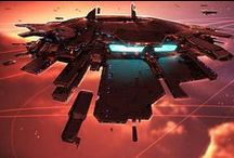 Homeworld / The Homeworld Series - Star Ships, Space Opera, Vistas etc