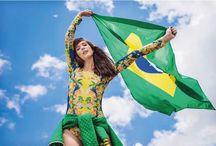 #Brasil #VaiTerCopa / Looks para Copa