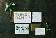 Design / Get creative with the design of your save the date or wedding and event invitations.