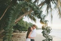 Summer Weddings / Tropical vibes and sunshine set the tone for summer wedding festivities.