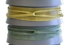Merchandising belts / http://adacollection.com/