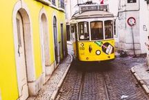 Colorful Portugal / Portugal a picture perfect country ready to be explored! With hills all over the country and beautiful streets, get ready for a new adventure. Unique architecture, music, food and history, it's the perfect place for an awesome trip.