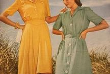 30s and 40s dresses